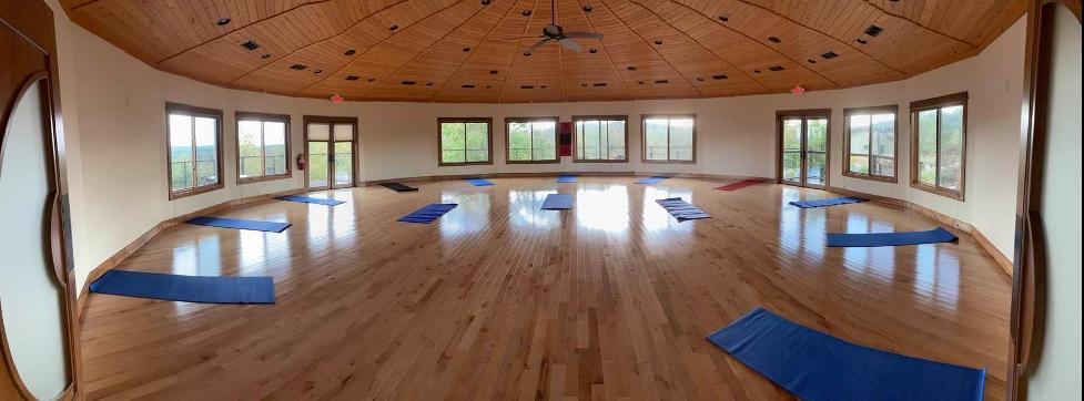 north georgia retreat center yoga mandala hall